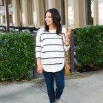 Striped Tunic Sweater