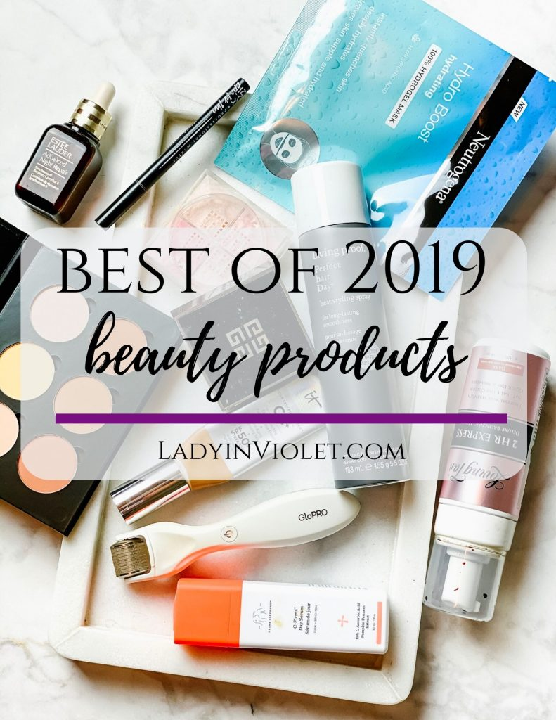 best beauty products of 2019 | top skincare and makeup products according to a beauty blogger | Houston Blogger Lady in Violet