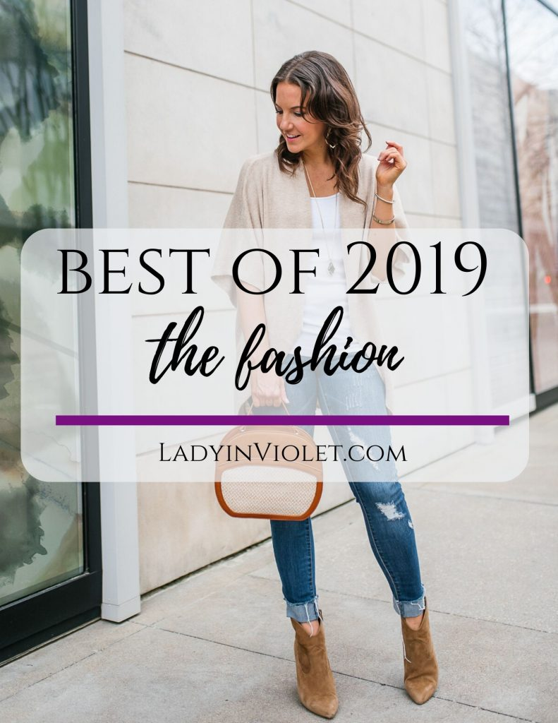 best of 2019 fashion | top outfits of the year | Houston Fashion Blogger Lady in Violet