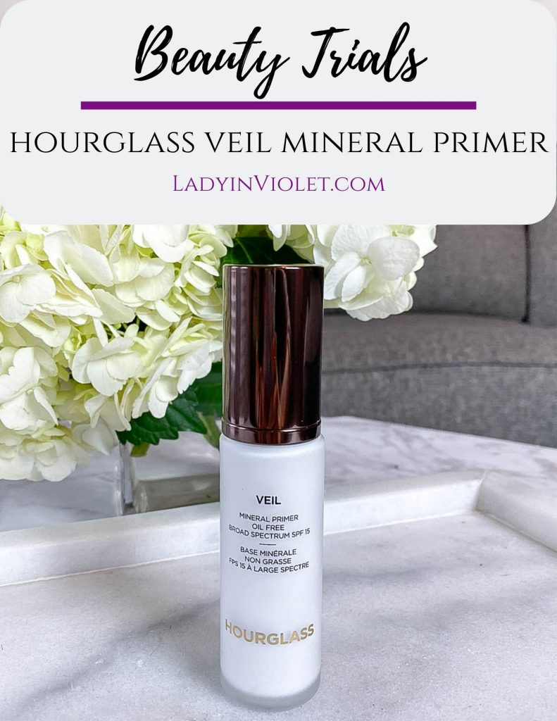 hourglass veil mineral primer review | what is makeup primer | Houston Beauty Blogger Lady in Violet