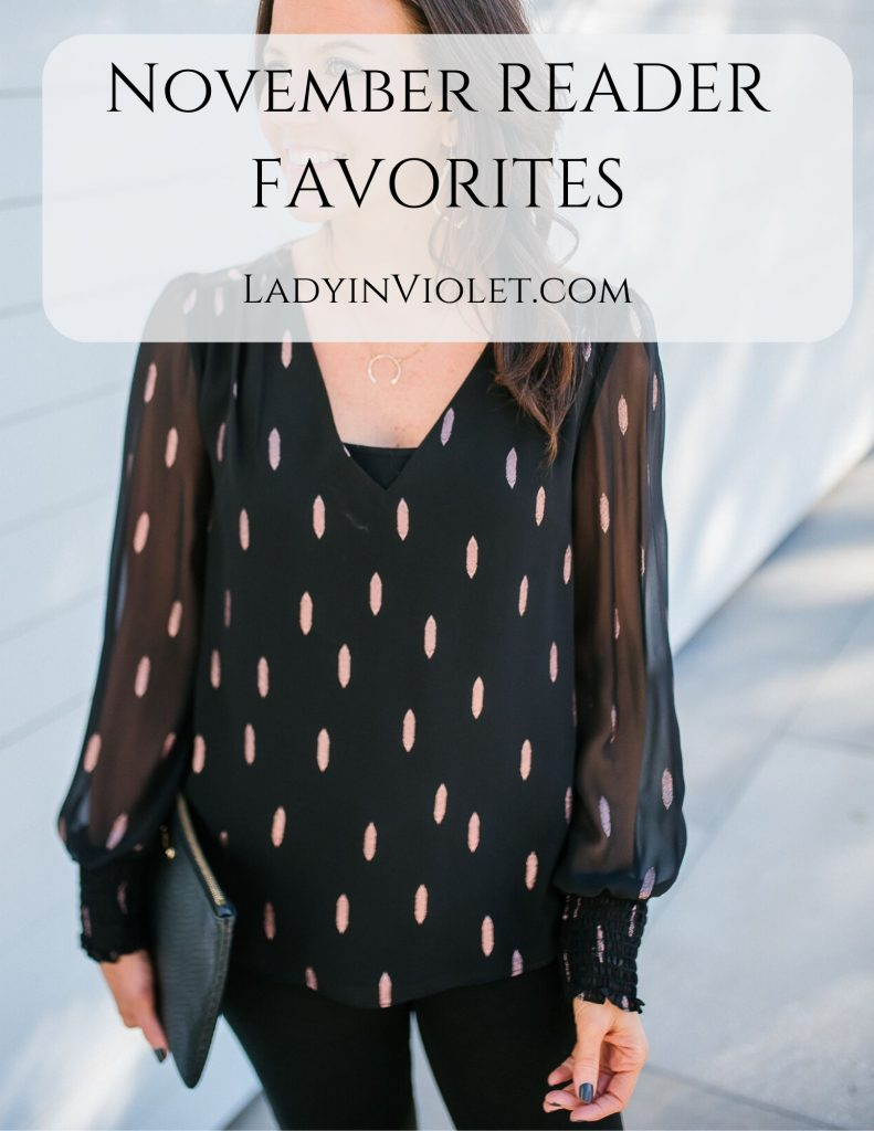 november reader favorites | fall outfit | affordable fashion blogger Lady in Violet