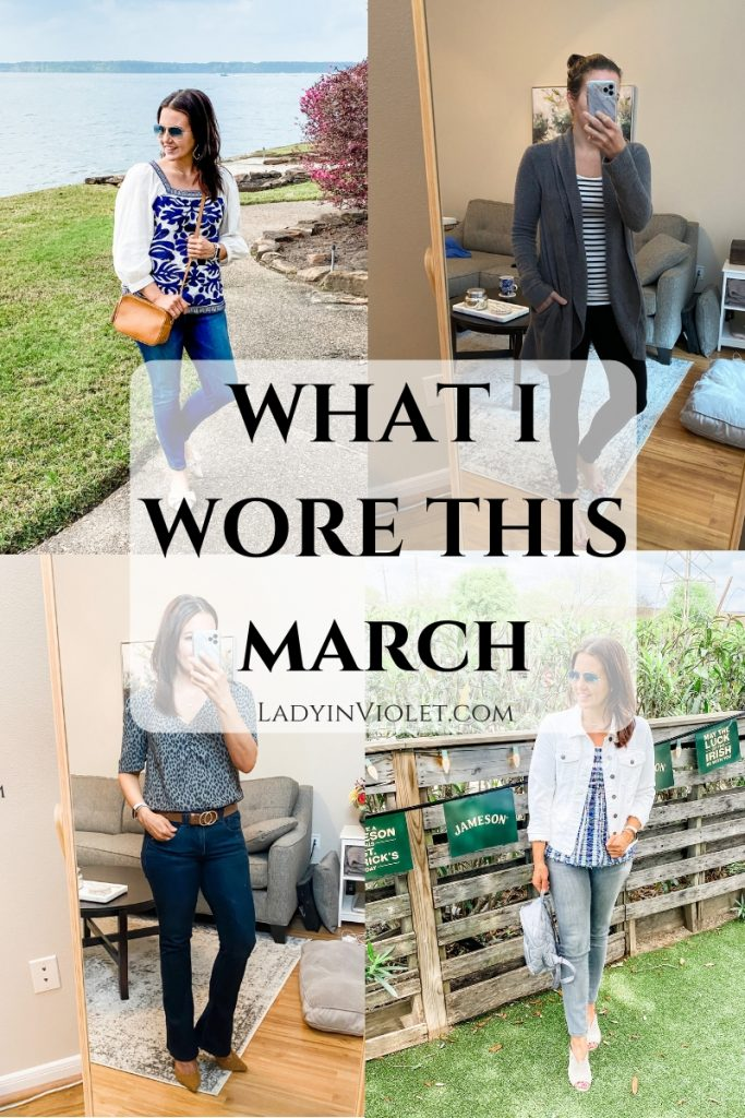 spring outfit ideas | daily outfits | Affordable Fashion Blog for Petites lady in violet