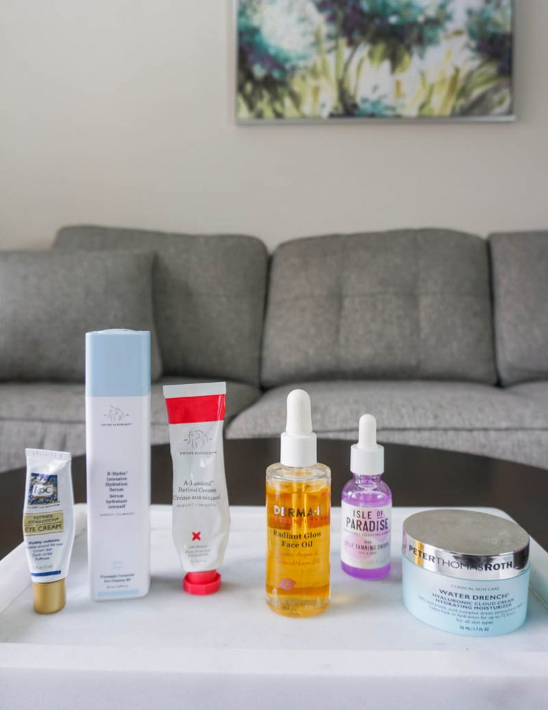 evening skincare routine steps for women over 30 | Popular Beauty Blogger Lady in Violet