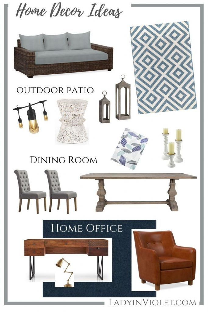 new home decor ideas | gray and blue home decorating | Houston Lifestyle Blog Lady in Violet