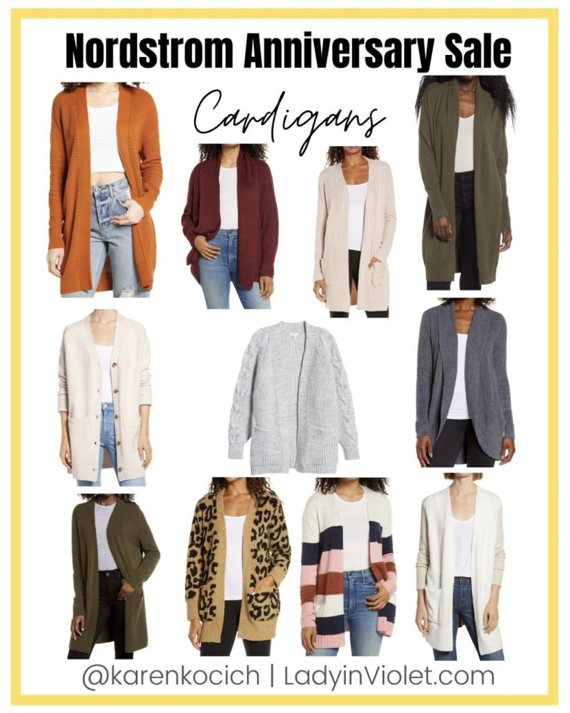 nordstrom anniversary sale fall must haves | long cardigans | sweaters | texas fashion blog Lady in Violet