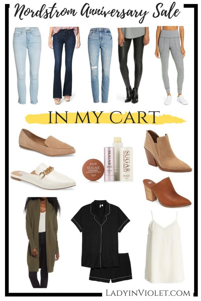 nordstrom anniversary sale picks | what's in my cart | nsale purchases | top us fashion blogger Lady in Violet