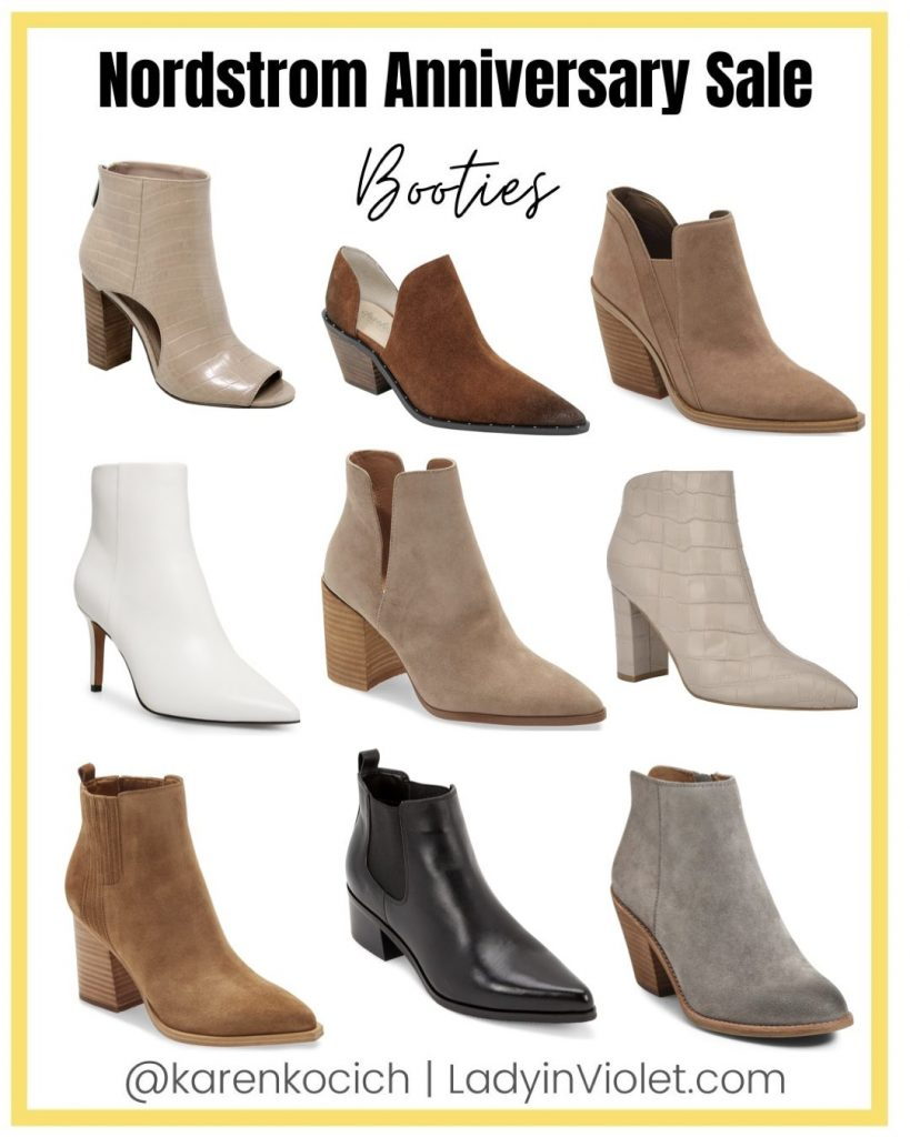 nsale best of booties   fall boots   nordstrom anniversary sale shoe picks   Popular Fashion Blog Lady in Violet