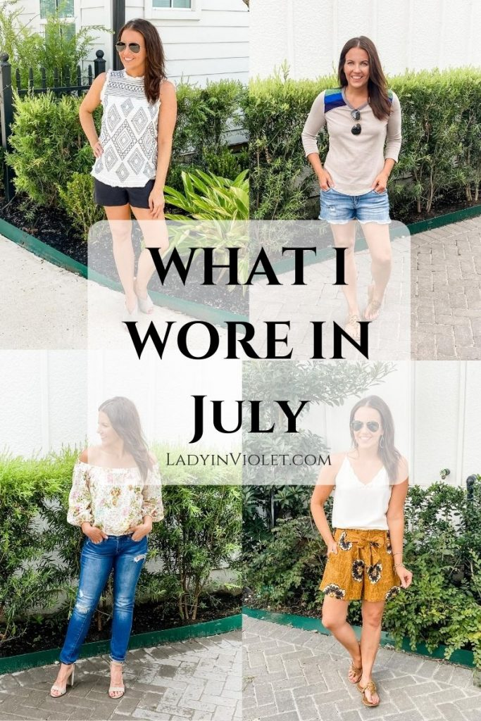 summer outfits | casual fashion | shorts outfit | Affordable Fashion Blog Lady in Violet