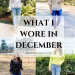What I Wore December