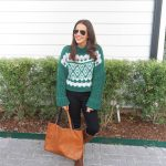 Green Alpine Sweater
