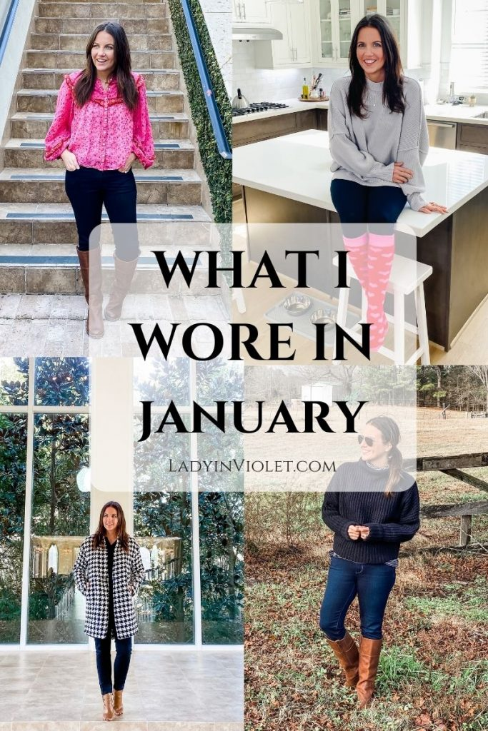 winter outfits | casual fashion | Petite Fashion Blogger Lady in Violet