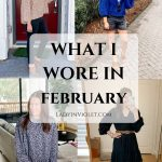 What I Wore in February
