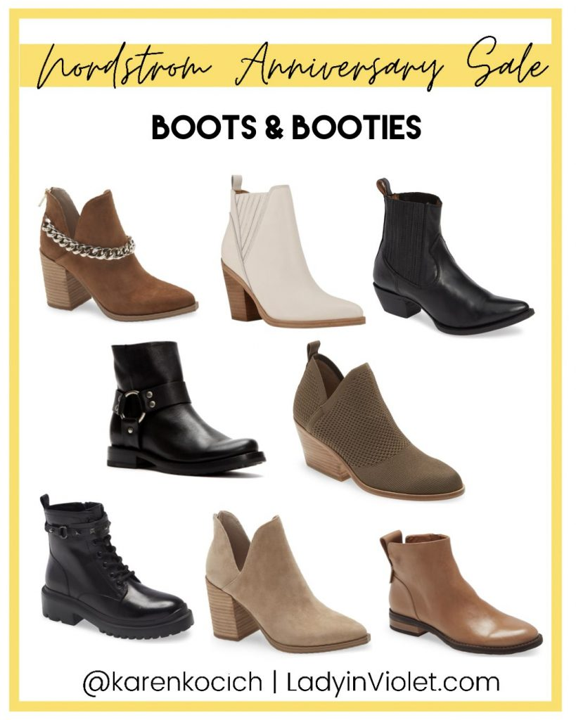 nordstrom anniversary sale booties | houston fashion blog Lady in Violet