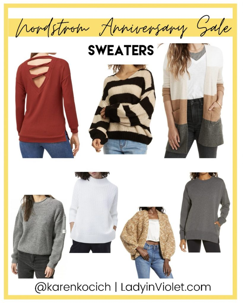 nordstrom anniversary sale sweaters and cardigans | Southern Fashion Blogger Lady in Violet