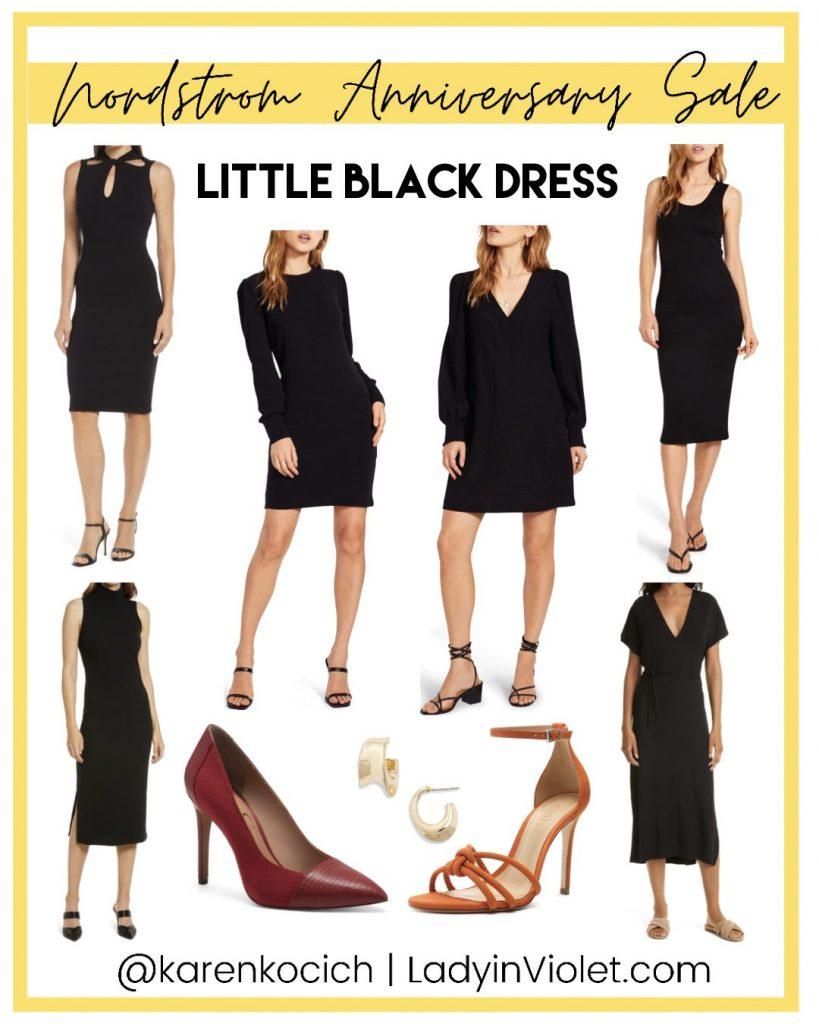 nordstrom anniversary sale black dresses | workwear | American Fashion Blog Lady in Violet