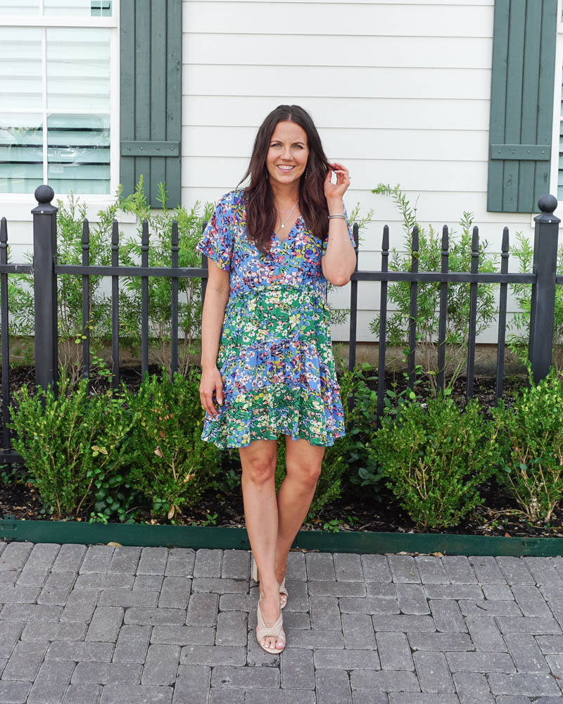 summer workwear | wear to work dress | strappy summer sandals | Southern Fashion Blogger Lady in Violet