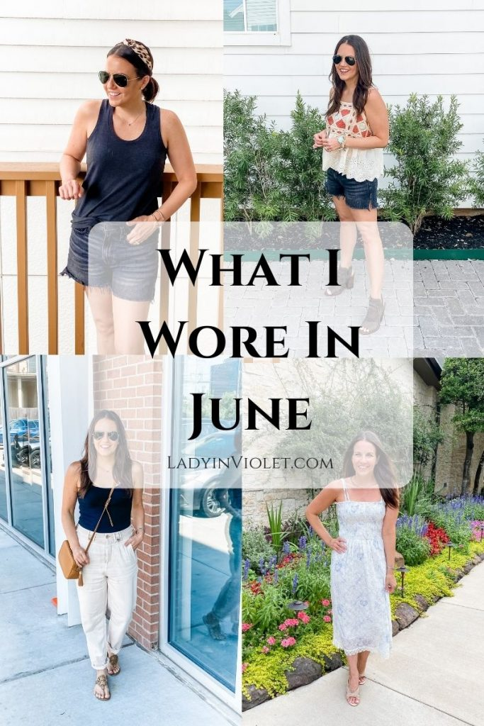 summer outfits | shorts outfits | summer dresses | petite fashion blogger lady in violet
