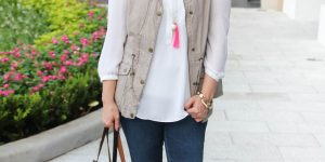 A Chic Utility Vest Outfit