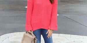 Pink Coral Sweater