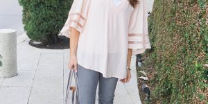 Big Sleeves & Blush Pink